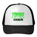 Camiseta del bocado del zombi gorros
