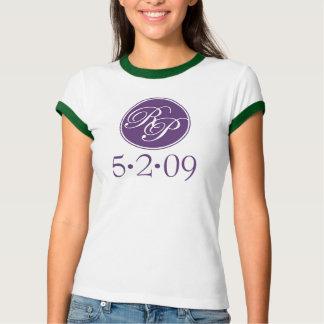 Camiseta del boda de Megan Camisas