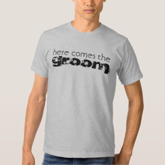 Camiseta del boda del novio remera