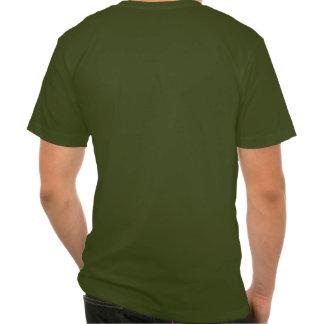 Camiseta del bolsillo de Forest Green