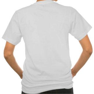 Camiseta del bolsillo de las mujeres playera