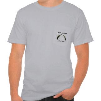 Camiseta del bolsillo del club playera