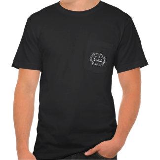 Camiseta del bolsillo del estudio 1404 de los homb