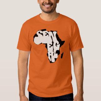 Camiseta del bongo II de África Senegal Playeras