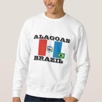 Camiseta del Brasil (Alagoas) Pullover Sudadera