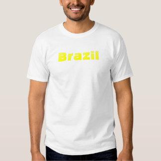 Camiseta del Brasil Playeras