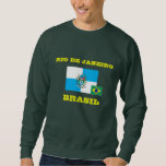 Camiseta del Brasil Río de Janeiro Pulóver Sudadera