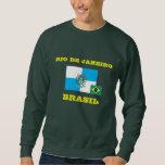 Camiseta del Brasil Río de Janeiro Sudaderas Encapuchadas