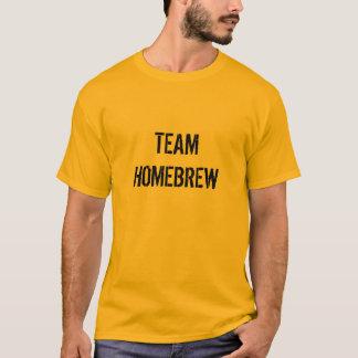 Camiseta del brew casero del equipo