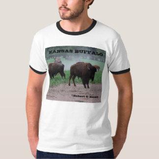 Camiseta del búfalo de Kansas Remera