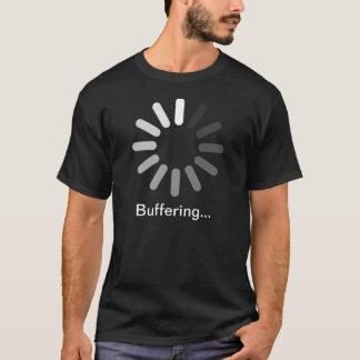 Camiseta del Buffering (texto de encargo)