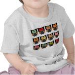 Camiseta del búho