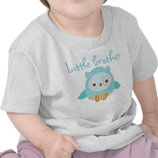 Camiseta del búho del pequeño hermano