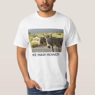 Camiseta del burro playeras