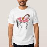 Camiseta del caballo del desfile del día de San Playera