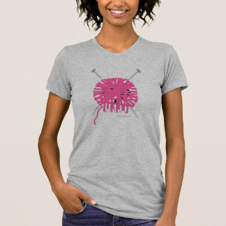 Camiseta del calcetero de Skully - rosa Playeras