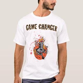 Camiseta del cambiador del juego