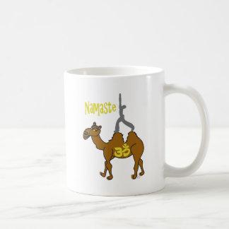Camiseta del camello de la India de la yoga Taza De Café