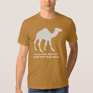 Camiseta del camello del día de chepa playeras