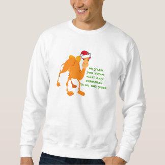 Camiseta del camello del navidad del día de chepa