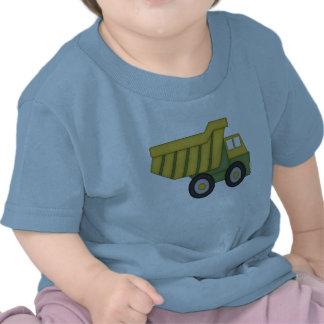 Camiseta del camión volquete para los niños