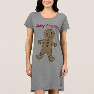 Camiseta del camisón del pan de jengibre de las