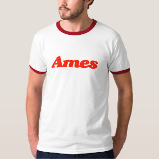 Camiseta del campanero de Ames
