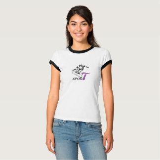 Camiseta del campanero de Bella de las mujeres de Poleras