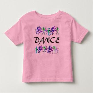 Camiseta del campanero de Dance~Toddler Playera