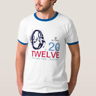Camiseta del campanero de la campaña de OBAMA 2012