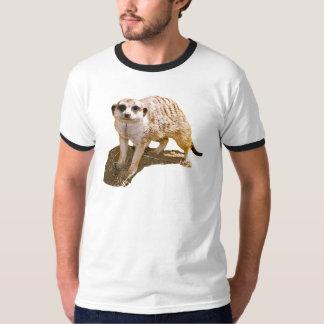 Camiseta del campanero de la imagen de Meerkat Playera