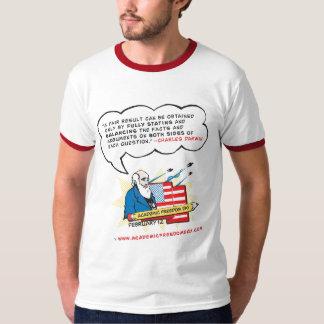 Camiseta del campanero de la libertad de cátedra