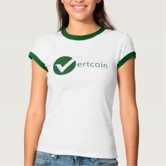 Camiseta del campanero de la mujer de Vertcoin Remeras