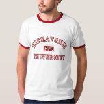 Camiseta del campanero de la universidad de camisas