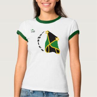 Camiseta del campanero de las mujeres de Jamaica Remeras
