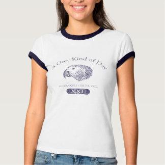 Camiseta del campanero de las mujeres del día del playera
