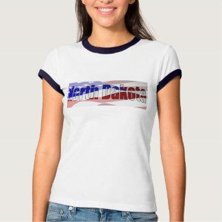 Camiseta del campanero de las señoras del orgullo playeras