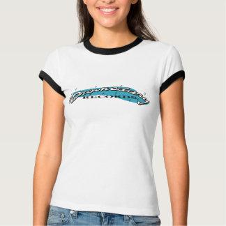 Camiseta del campanero de las señoras del vintage