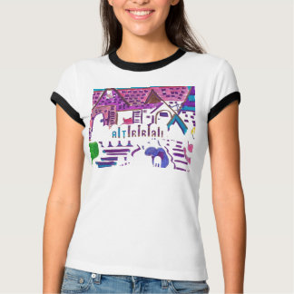 Camiseta del campanero de las señoras playera