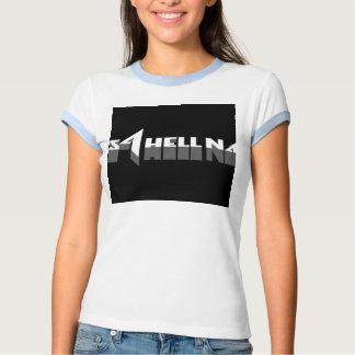 Camiseta del campanero de las señoras playeras