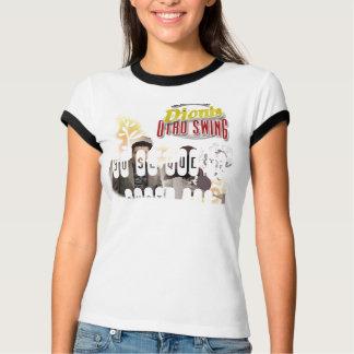 Camiseta del campanero de las señoras polera