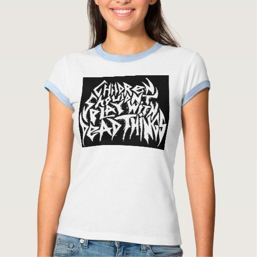 Camiseta del campanero de las señoras poleras