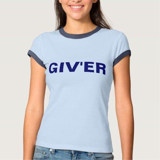 Camiseta del campanero de los azules cielos GIV'ER Playeras