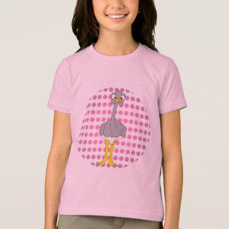 Camiseta del campanero de los chicas de la