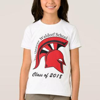Camiseta del campanero de los chicas remera