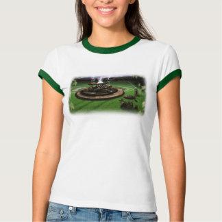Camiseta del campanero de los círculos de la remeras