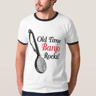 Camiseta del campanero de los hombres de antaño polera