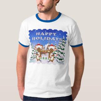 Camiseta del campanero de los hombres del día de camisas