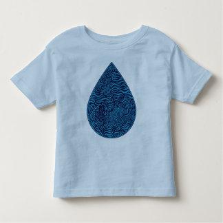 Camiseta del campanero de Todler del descenso de