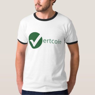 Camiseta del campanero de Vertcoin (VTC) Polera